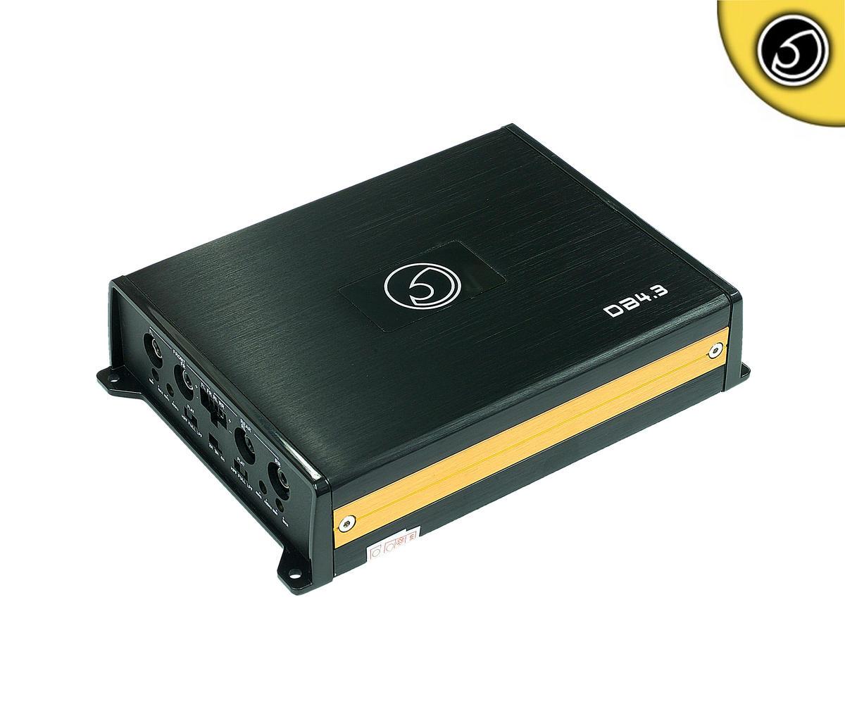 Bassface DB4.3 700w 4/3/2 Channel Class D Micro Sized Car Speaker Amplifier