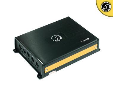 Bassface DB4.3 700w 4/3/2 Channel Class D Micro Sized Car Speaker Amplifier Thumbnail 1