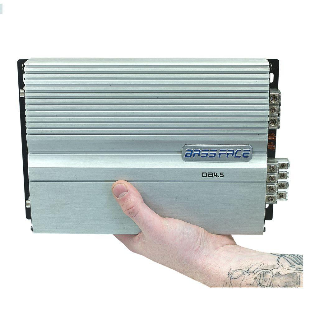 Bassface DB4.5 2000w 4/3/2 Channel Class D Mini Car Speaker Stereo Amplifier Amp