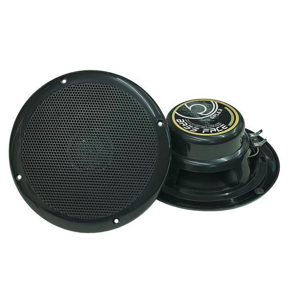 "Bassface SPL6.2B 300w 6.5"" Inch 17cm Waterproof Marine Boat Speaker Pair Black Thumbnail 2"