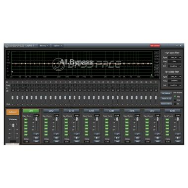 Bassface DSP8.1 31 Band P EQ DSP Crossover Time Alignment 8 Channel Processor Thumbnail 5