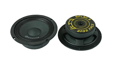 "Bassface SPL6C.3 6.5"" Inch 16.5cm 4Ohm Car Component Speaker & Tweeter Kit 800w Thumbnail 3"