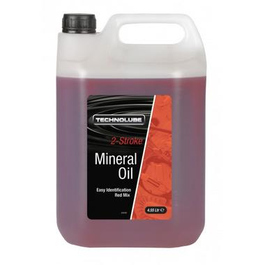 Technolube ASM455 2 Stroke Car Van 4.55 Litre Mineral Oil Thumbnail 1