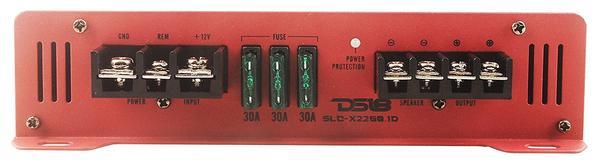 DS18 SLC-X1550.1D 1 Channel Class D Monoblock Amplifier 1550 Watt Power Single Thumbnail 4