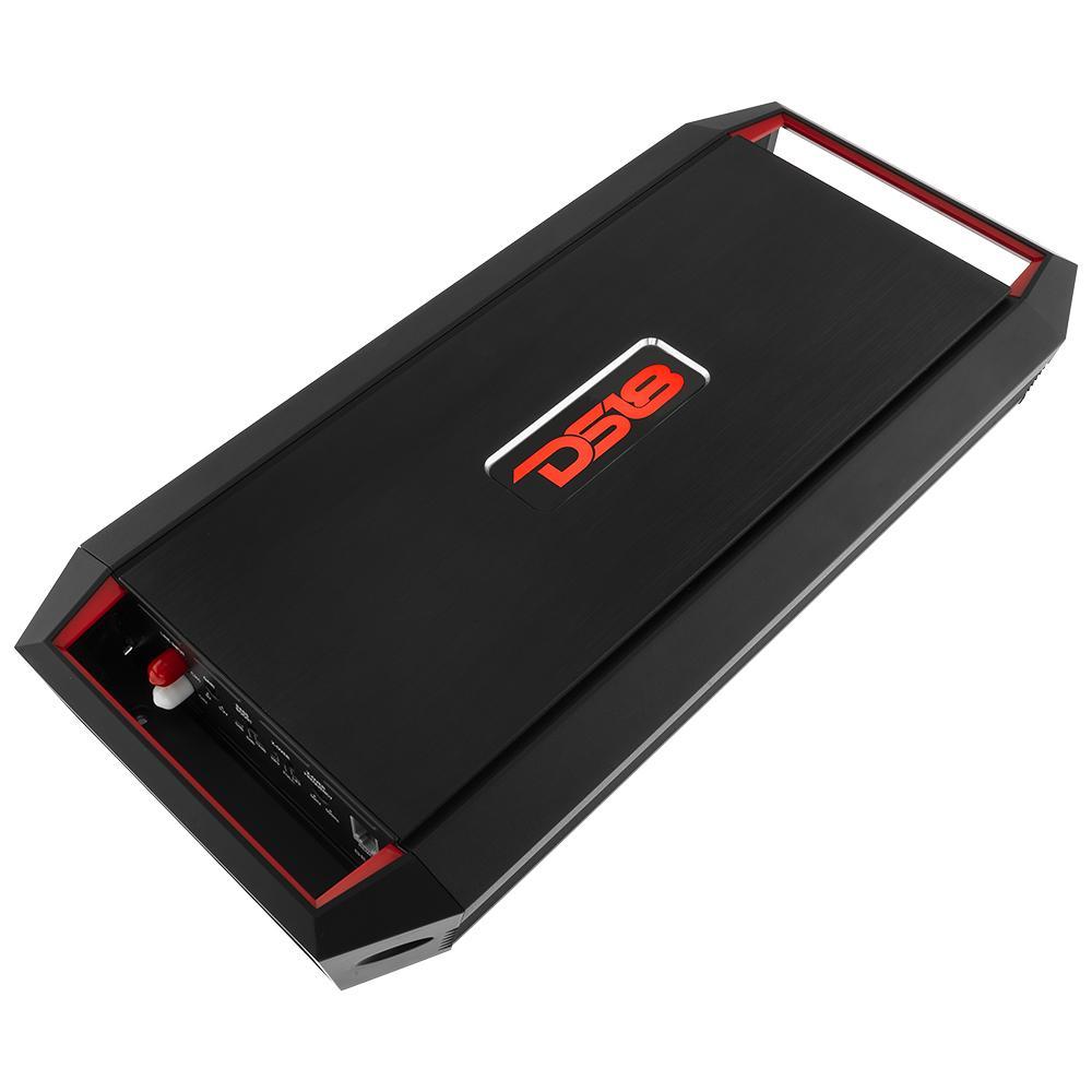 DS18 Car Amp 2 Channel 1200w Watt Audio Amplifier Stereo GEN-X1200.2 Full Range