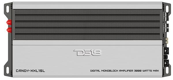 DS18 CANDY-XXL1SL Car Audio Silver 3000 Watts Monoblock Class D Amplifier Single Thumbnail 1