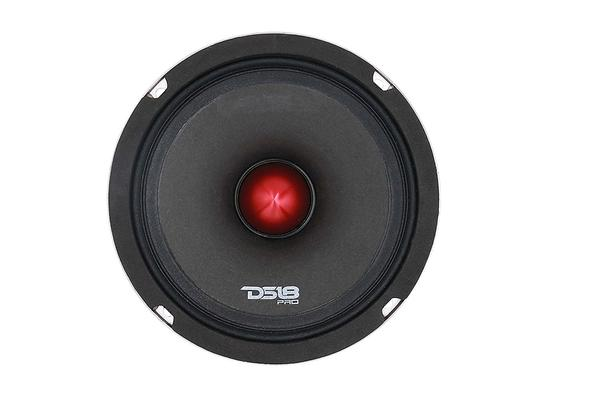 "DS18 PRO-HB8.4EDGE Car Audio 8"" 800 Watt Mid Range Subwoofer Speaker Single Thumbnail 3"