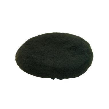 Car Cleaning 200mm Black Soft Lambs Wool Polishing Buffing Detailing Mop Head x 3 Thumbnail 2