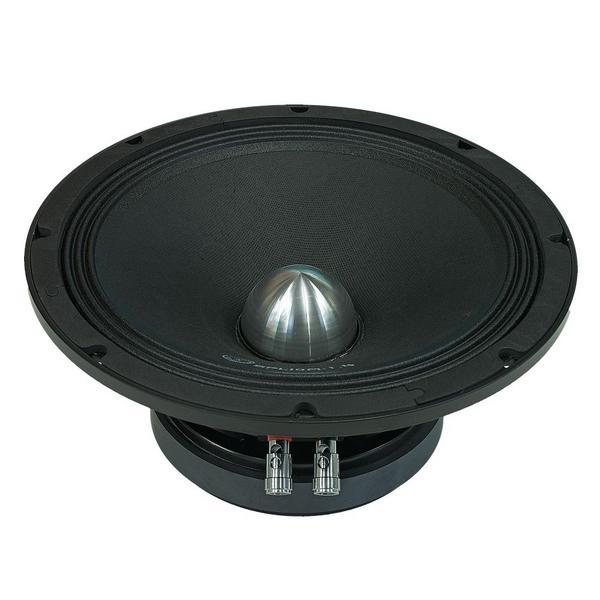 "Bassface SPL10M.1s 800w 10"" 25cm 4Ohm Cast Basket Midrange Midbass Driver SPL Speaker Single Thumbnail 2"