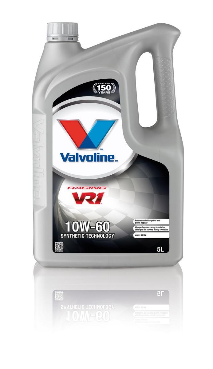 Valvoline VE11931 Vr1 Racing Sae 10W-60 5 Litre