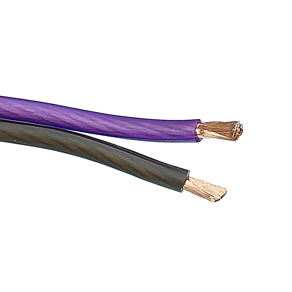 Bassface PSC10.2 1m 1 Meter 10AWG 6mm Pure OFC Speaker Cable 525 Strand