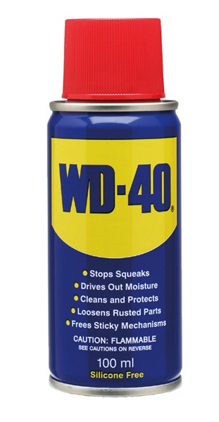 WD40 44001 Cleaning Lubricant Pentration Corrosion Resistant Fluid 100ml