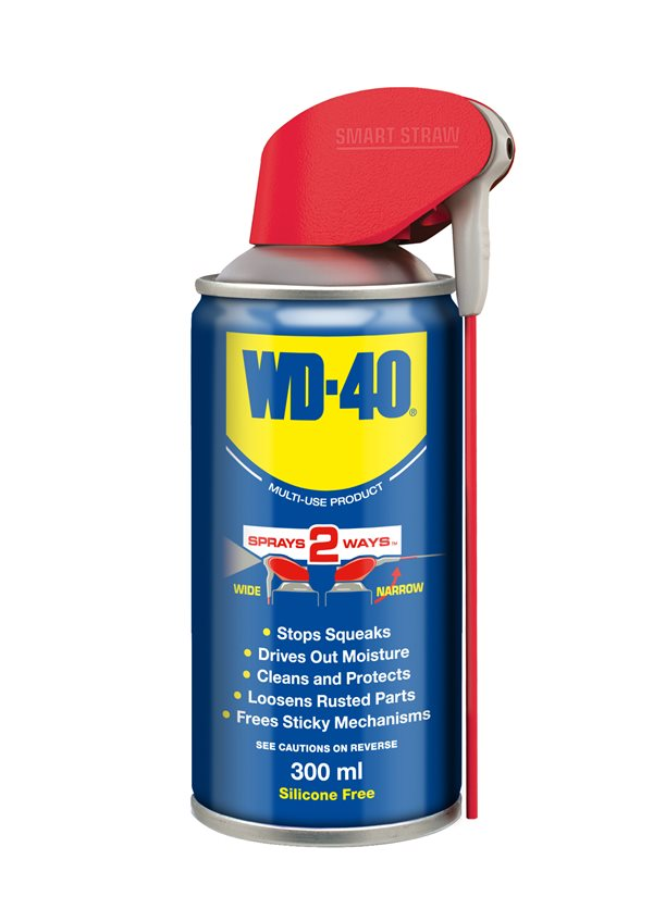WD40 44593A Cleaning Lubricant Pentration Corrosion Resistant Fluid 300ml