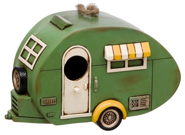 Flamefield SA8839 Birdhouse 1930 Caravan Vintage Style