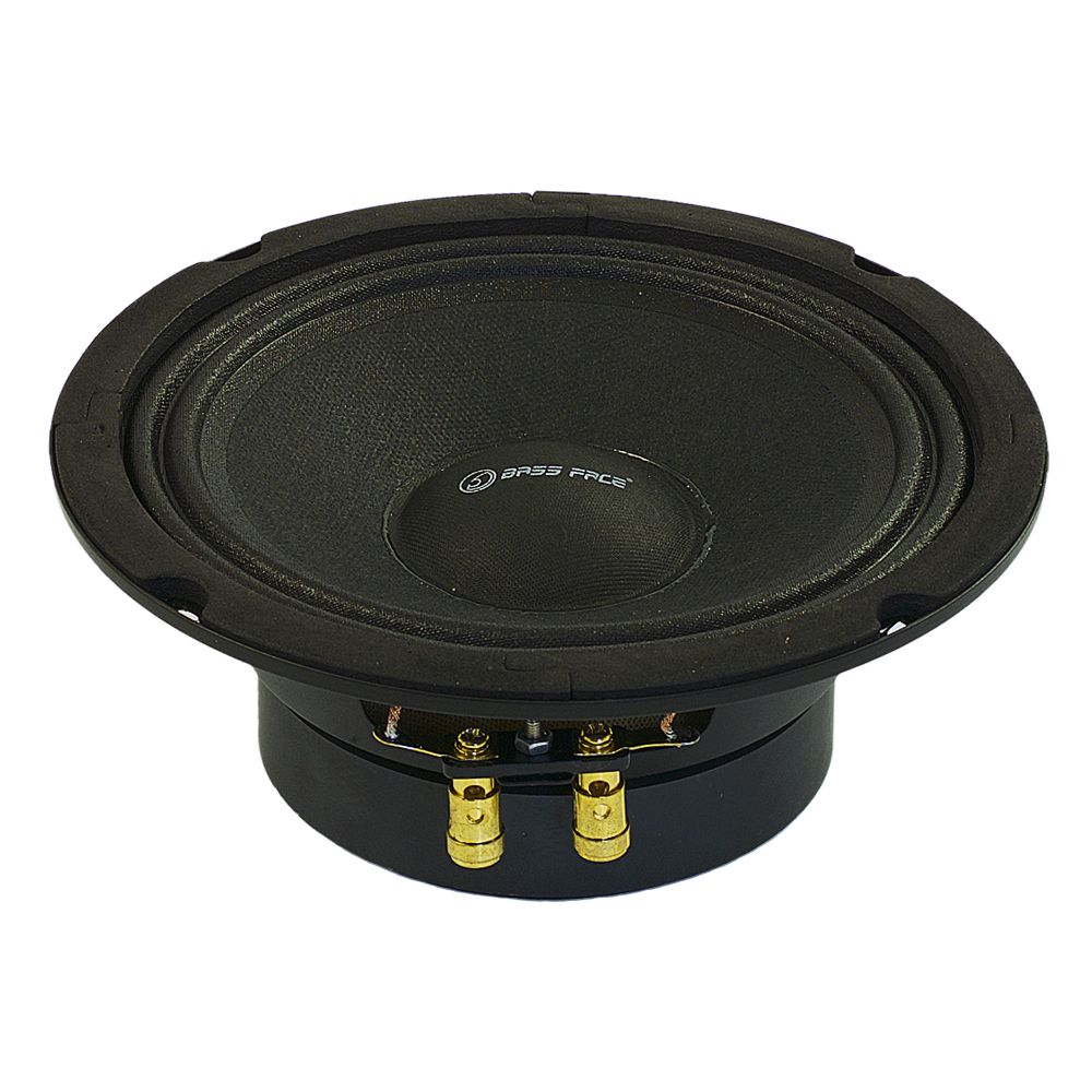 "Bassface PAW6.1 320w 6.5"" 17cm 8Ohm Mid Woofers Midbass Drivers SQ Speakers Pair"