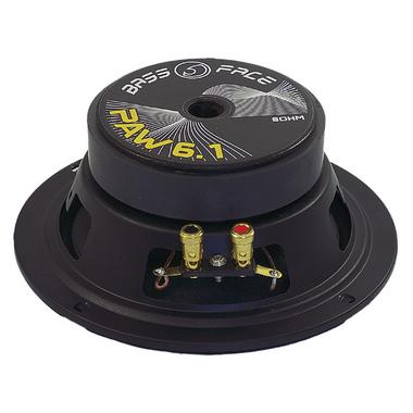 "Bassface PAW6.1 320w 6.5"" 17cm 8Ohm Mid Woofers Midbass Drivers SQ Speakers Pair Thumbnail 2"