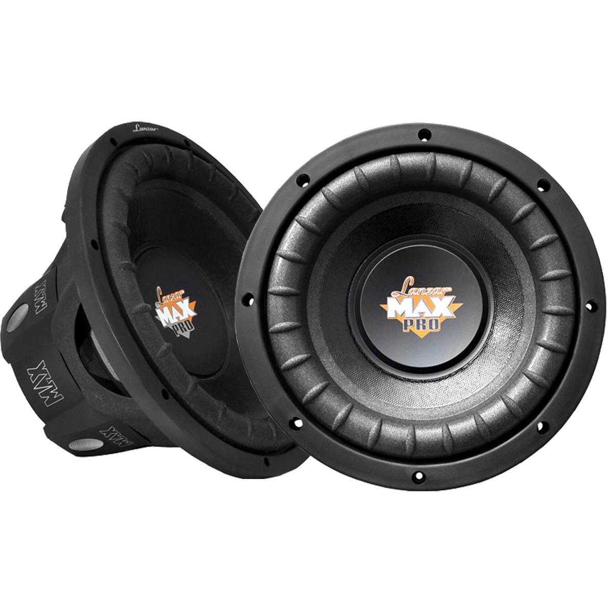 """Lanzar Max Pro Mid Bass Driver 8"""" 4 Ohm 1600w In Car Audio Subwoofers Sub Woofers"""