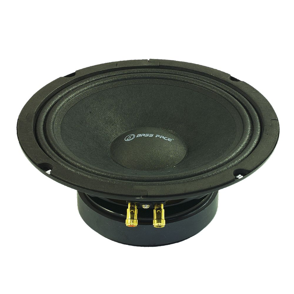 "Bassface PAW8.1 400w 8"" 20cm 8Ohm Mid Woofers Midbass Drivers SQ Speakers Pair"