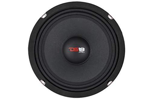 "DS18 PRO-X6M Car Pro Audio 900 Watts 6"" Inch Midranges Loud Speakers Thumbnail 5"