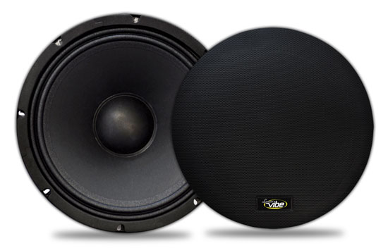 Lanzar VMRN65 Vibe Series 6.5-Inch 800 Watt Mid-Range Speakers Thumbnail 1