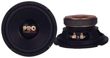 "Pyramid W64 6.5"" 400w 4Ohm Car Speakers MidWoofers Paper Midbass Drivers Thumbnail 1"