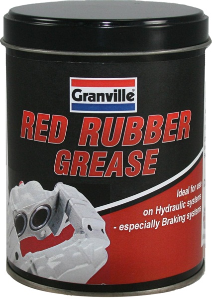 Granville 0846 Automotive Industrial Red Rubber Grease Single Thumbnail 1