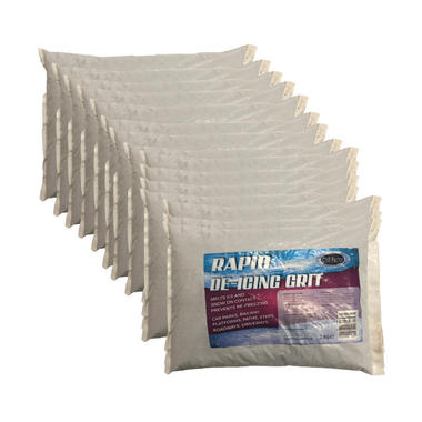 Chill Factor 30KG Rapid Snow Ice De icing Salt Grit Instant Grip Thumbnail 1