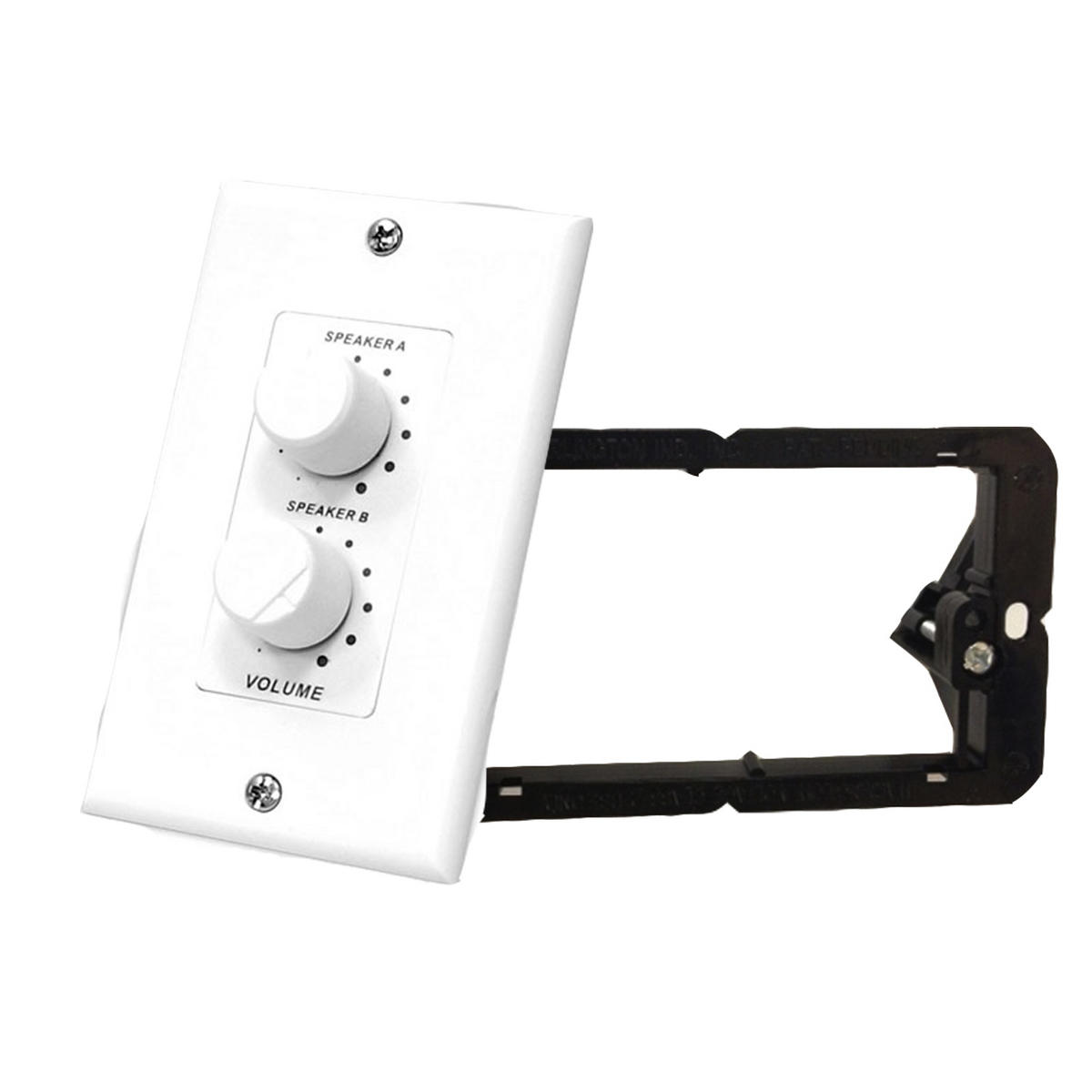 Pyle-Home PVCD15 In-Wall 2 Channel Stereo Volume Control With Wall Fixing