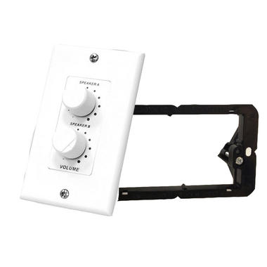 Pyle-Home PVCD15 In-Wall 2 Channel Stereo Volume Control With Wall Fixing Thumbnail 1