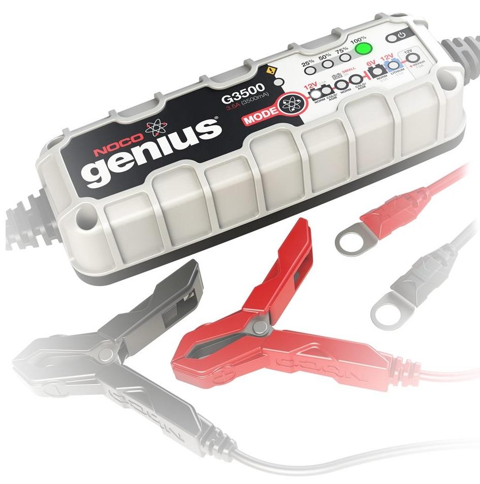 NOCO Genius G3500 6V 12V 3.5A UltraSafe Smart Car Van Auto Battery Charger