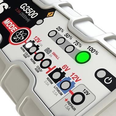 NOCO Genius G3500 6V 12V 3.5A UltraSafe Smart Car Van Auto Battery Charger Thumbnail 2