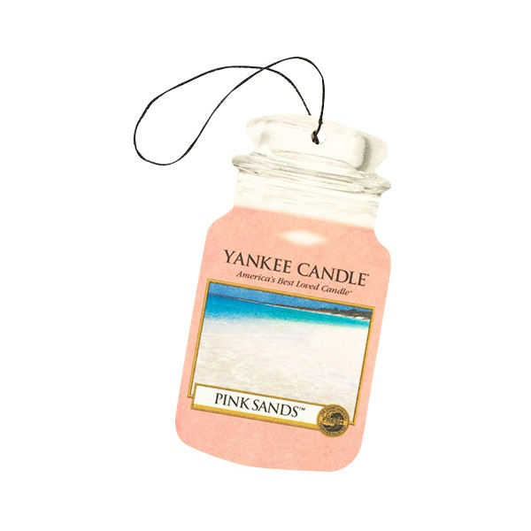 Yankee Candle Classic Car Jar Air Freshener Pink Sands Thumbnail 2
