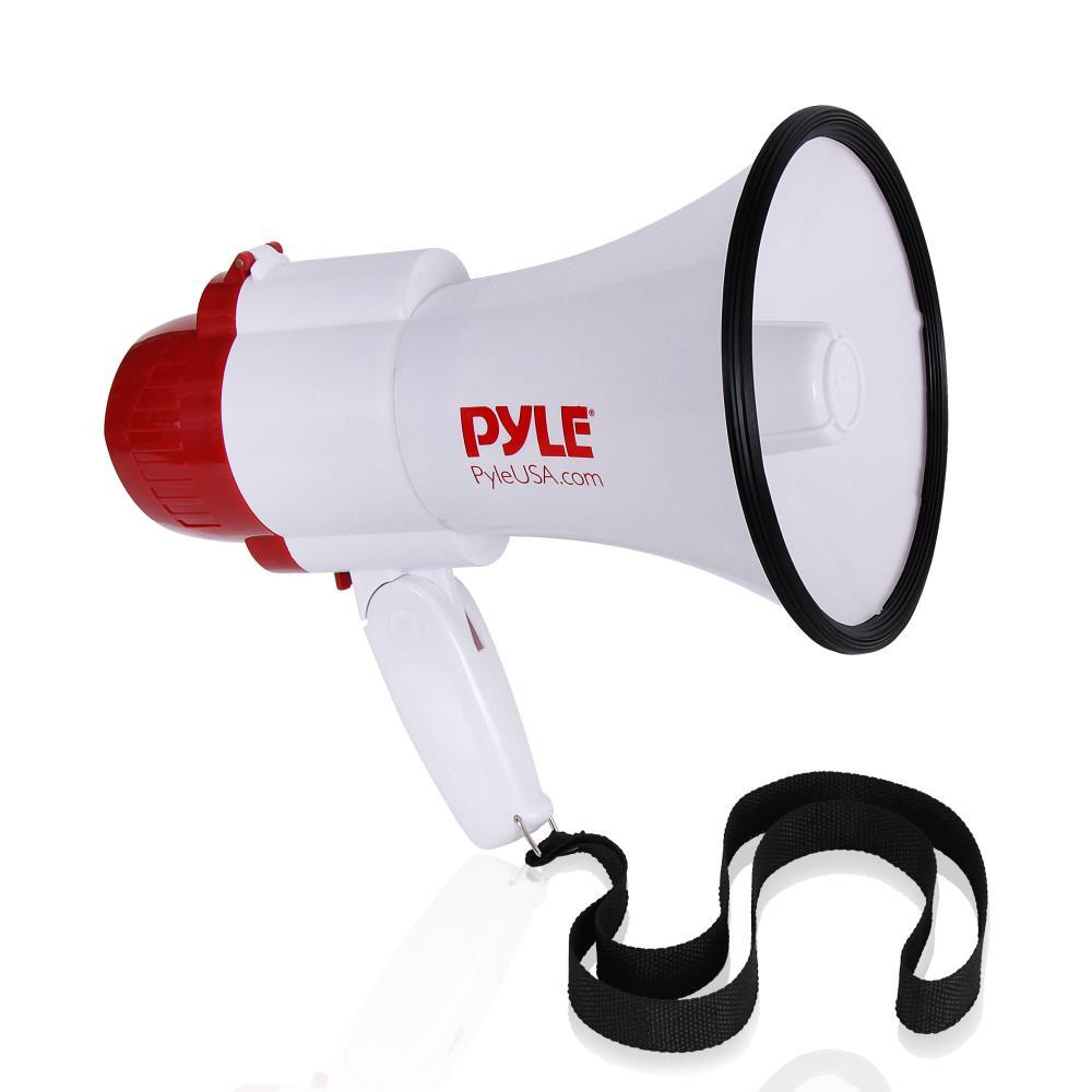 Pyle Pro 30 Watt Loud Hailer Megaphone Bull Horn Siren Speaker Pistol Grip
