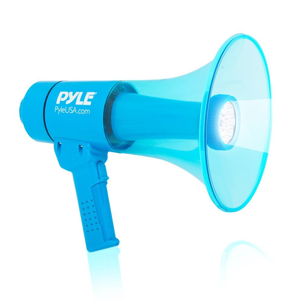 Pyle PMP66WLT 40 Watt Water Resistant Indoor Outdoor PA Loud Hailer Megaphone