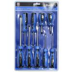 Bluespot 12060 Automotive 9 Piece Philips And Flat Head Screwdriver Set Set