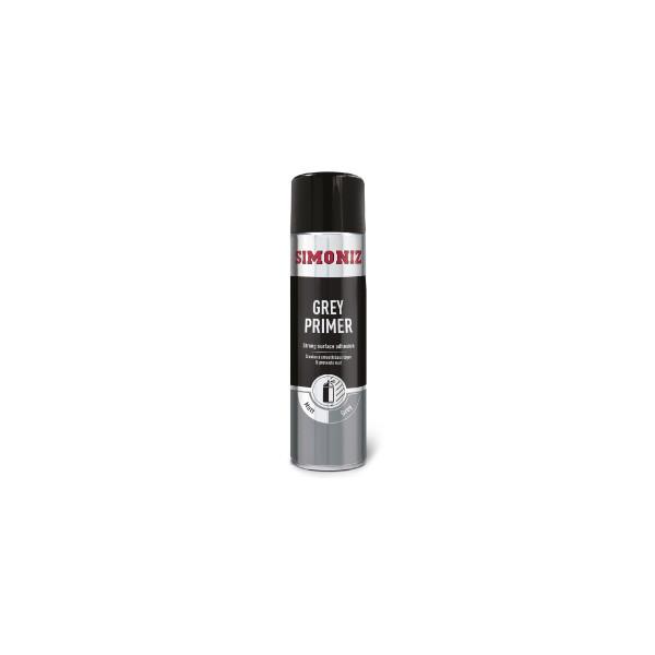 Simoniz SIMP11D Acrylic Grey Primer 500ml Aerosol