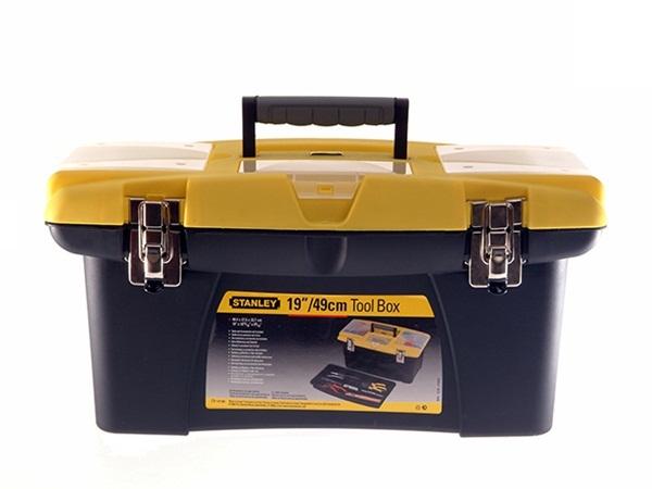 "Stanley STA192906 Workshop Automotive Jumbo Tool Box 19"" 475mm Single"