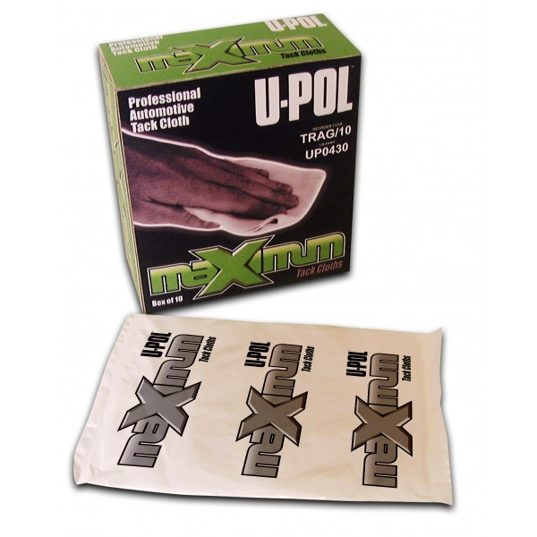 Upol UPOTRAG10 Painting Professional Automotive Tack Cloths 10 Pack Thumbnail 1