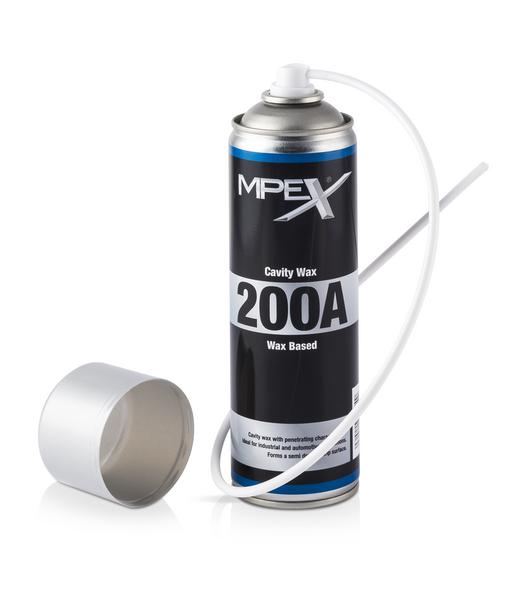 MPEX MPEX200A/S Automotive Car Van 200A Cavity Wax 500ml Aerosol Single Thumbnail 1