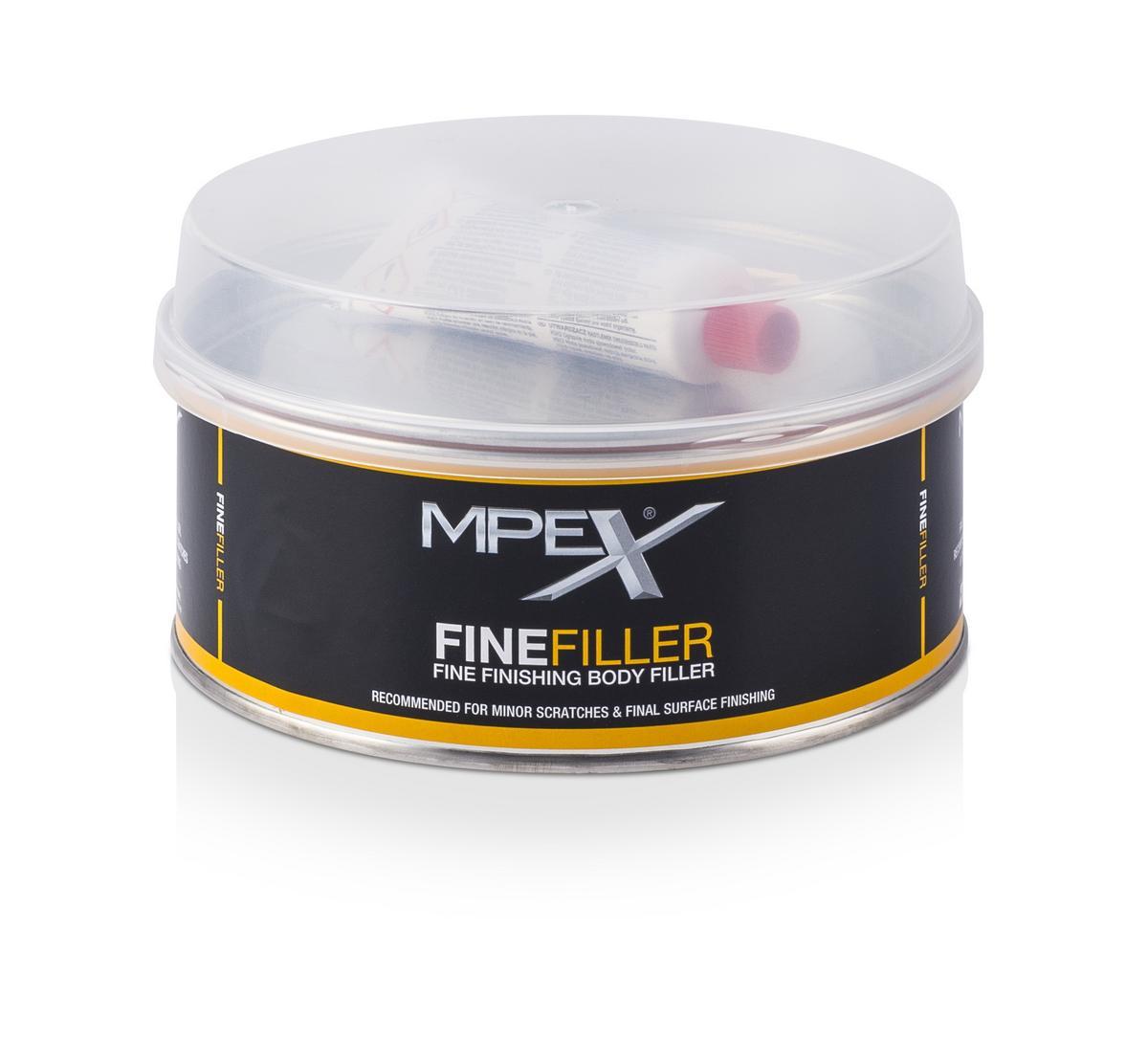 MPEX MPEXFF1K/S Automotive Body Work 1KG Fine Filler Single