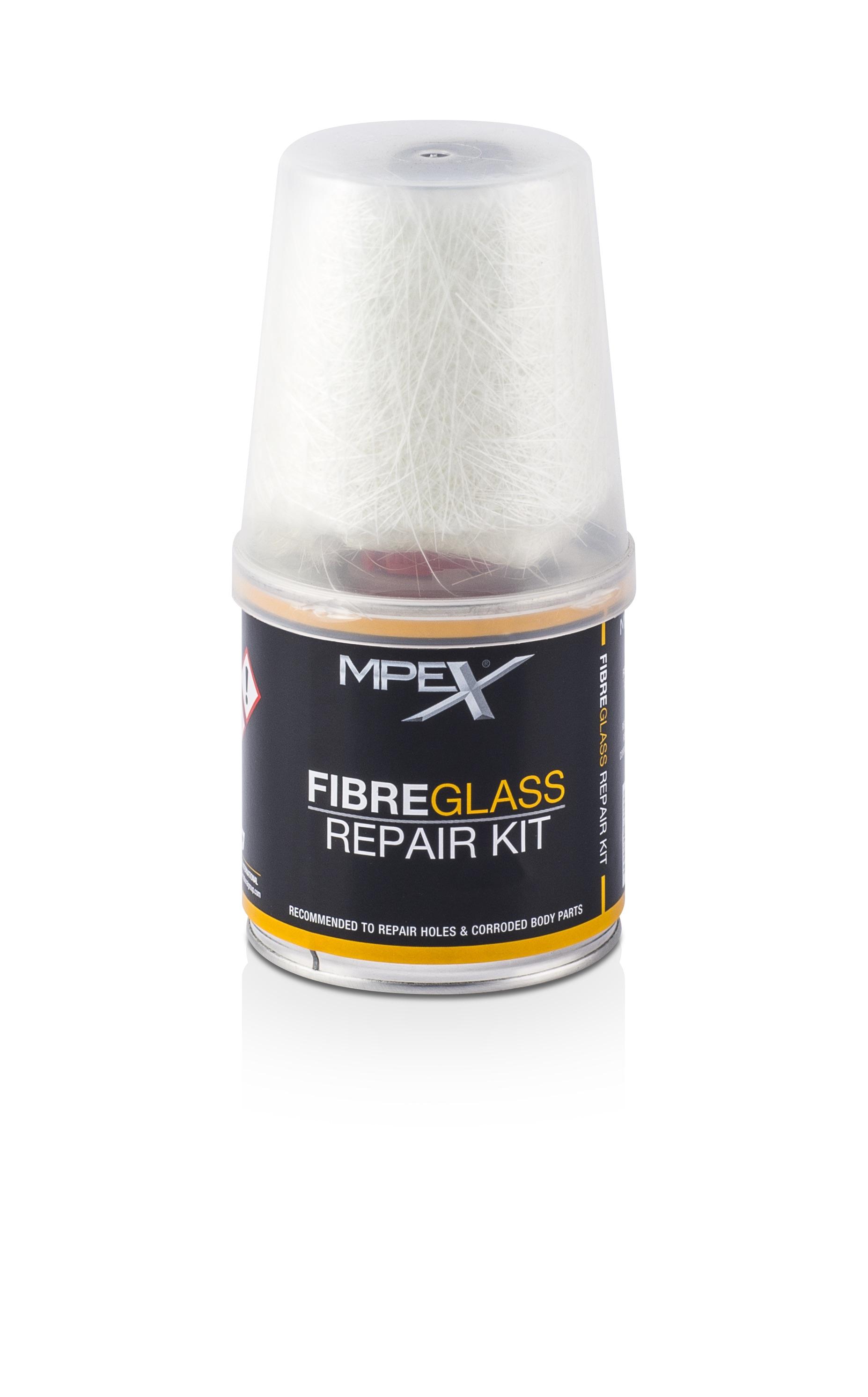 MPEX MPEXFRK250G/S Automotive Car Van 250gr Gram Fibre Glass Repair Kit Single