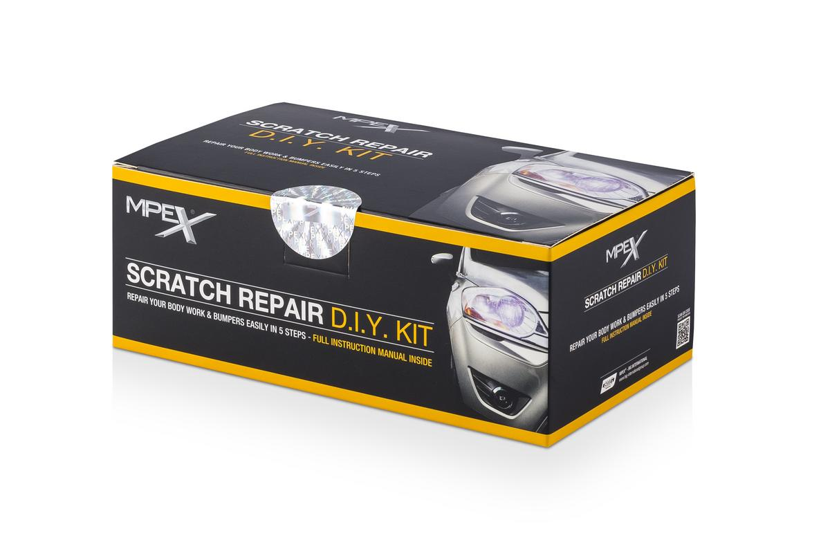 MPEX MPEXSRK Automotive Body Work Scratch Repair Diy Kit
