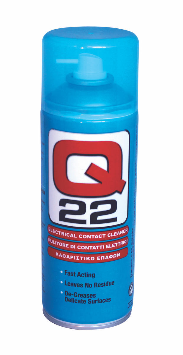Q Oil Q22400/S Industrial Automotive Q22 Contact Cleaner 400ml Single