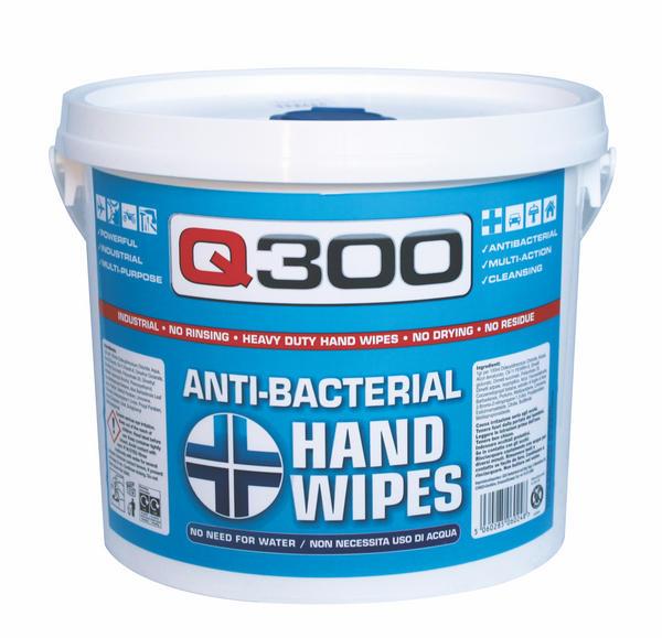 Q Oil Q300/S Industrial Automotive Q300 Hand Wipes Single Thumbnail 1