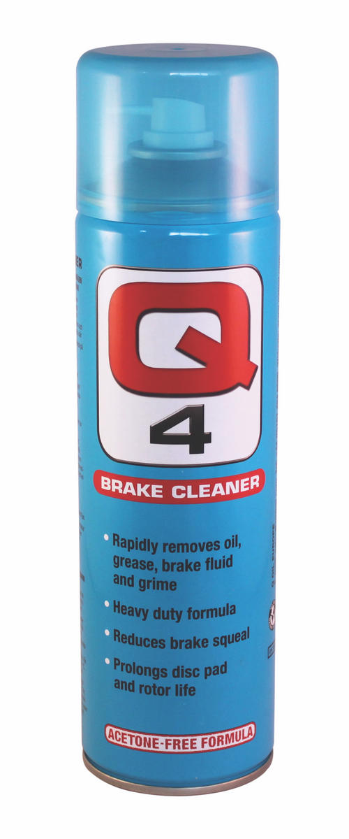 Q Oil Q4500/S Industrial Automotive Q4 Heavy Duty Brake Cleaner 500ml Single