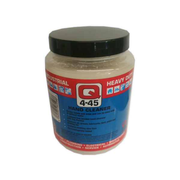 Q Oil Industrial Automotive Q4-45 Antiseptic Hand Cleaner 500ml Single Thumbnail 1