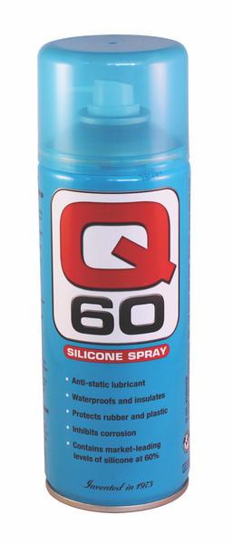 Q Oil Q60400/S Industrial Automotive Q60 Silicone 400ml Single Thumbnail 1