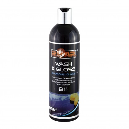 Roar ROAR811-10 Car Cleaning Detailing Wash and Gloss 1L Litre Thumbnail 1