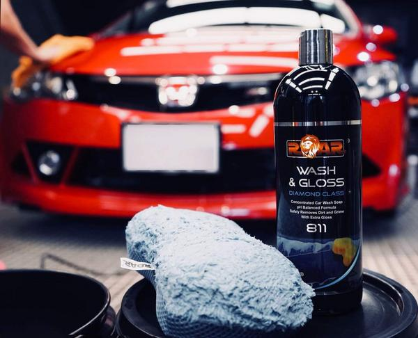 Roar ROAR811-10 Car Cleaning Detailing Wash and Gloss 1L Litre Thumbnail 4