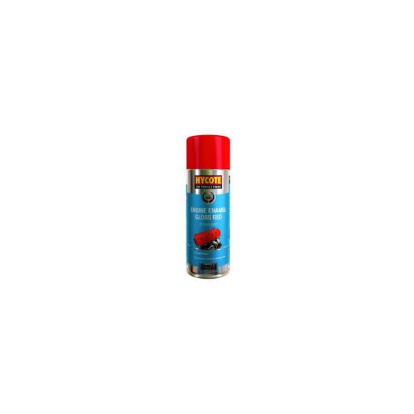 Hycote HYXUK998 Engine Enamel Gloss Red 400ml Thumbnail 1